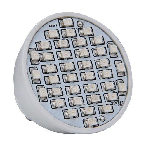 Gu10 Blue 38 3528 Smd Led Home Office Spot Light Bulb Lamp Spotlight 230V 2W