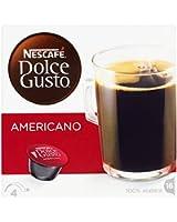 Nescafé Dolce Gusto Caffè Americano 16 Capsules (Pack of 3, Total 48 Capsules, 48 servings)