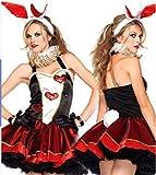 【INSIGHTWORKS】ハロウィンHalloweenバニーガールコスチューム衣装コスプレレディースセクシーハロウィン衣装 サンタ仮装 パーティーコスチューム仮装