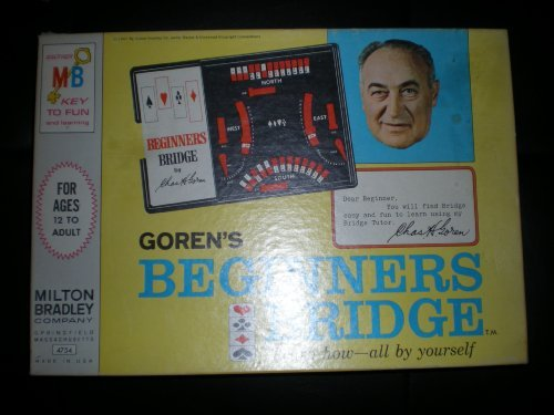 Goren's Beginners Bridge: Learn how--all by yourself - 1