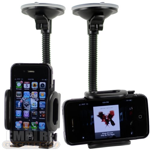 Cheap Apple iPhone 4 4G 4S (Att Verizon Sprint) Car Windshield Dash Mount Cradle Holder Kit