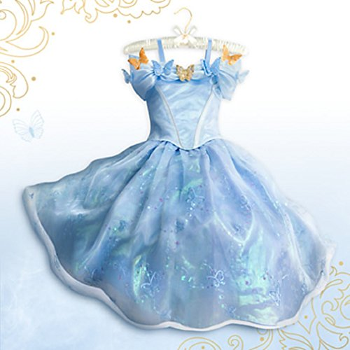 Disney - Cinderella Limited Edition Costume for Girls - Live Action Film - Size 6