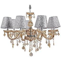 Homdox Modern Home Lighting 40 X 8w Crystal Ceiling Light Pendant Lamp Fixture Chandelier