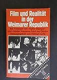 Image de Film und Realität in der Weimarer Republik. Mit Analysen von Kuhle Wampe und Mutter