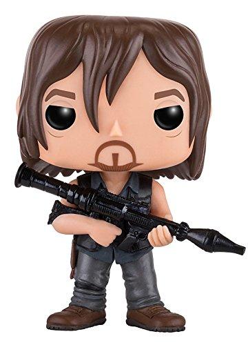 Funko - Figurine Walking Dead - Daryl Rocket Launcher Pop 10cm - 0889698110655