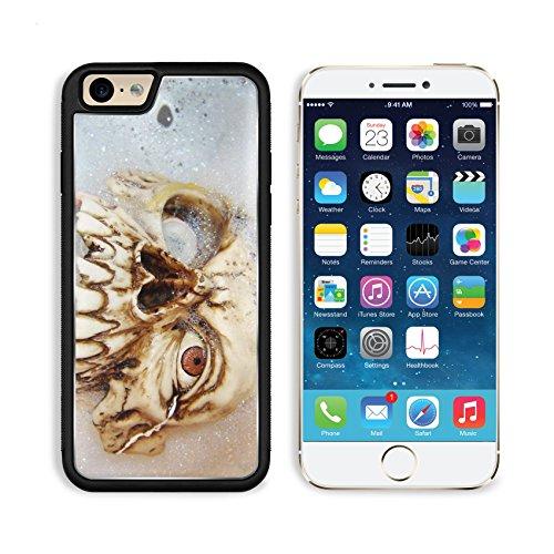MSD Premium Apple iPhone 6 iPhone 6S Aluminum Backplate Bumper Snap Case IMAGE ID: 464427 Fake halloween vampire in its bath