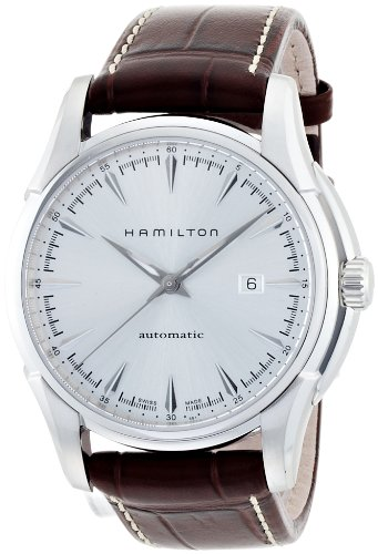 Hamilton Men's H32715551 Jazzmaster Viewmatic Silver Dial Watch