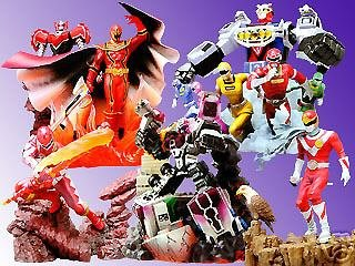 Power Sentai Ranger Strike Figure Gashapon Case Bandai