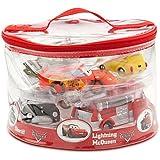 Disney Parks Deluxe Cars 6 Piece Squeeze Bath Toys Set - Disney Parks Exclusive & Limited Availability