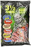 Hersheys Snack Size Assortment Bag (Jolly Rancher, Twizzlers, Whoppers, and Milk Duds), 140 Count