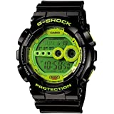 Casio Men's G-Shock GD100SC-1 Green Resin Quartz Watch