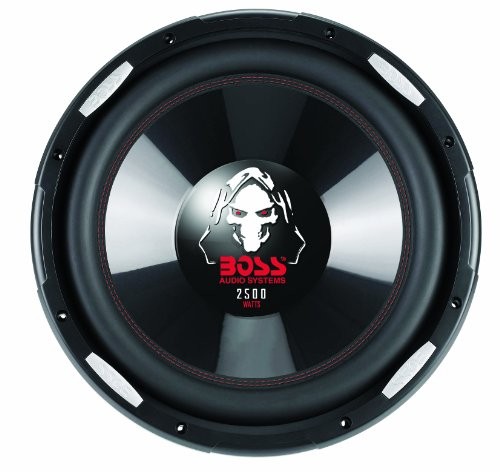 Boss Audio P156Dvc Phantom 15-Inch 2500-Watt Dual Voice Coil Subwoofer