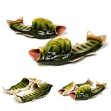 BING RUI CO 5 Colours Fish slippers Beach Shoes Non-slip Sandals Creative Fish Slippers Men and Women Casual Shoe