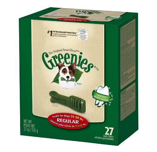 Greenies Dental Chews for Dogs, Regular, Pack