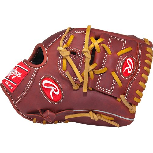 Rawlings Heart of the Hide Players Series Baseball Gloves, Red, 11.75