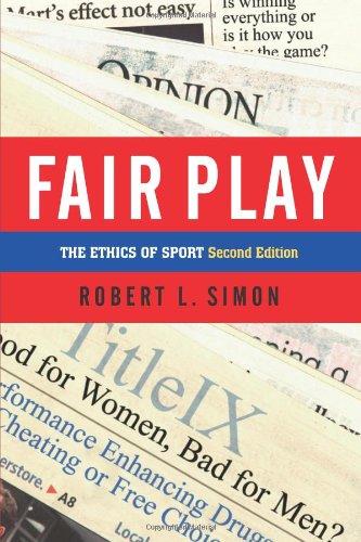 Fair Play: The Ethics Of Sport