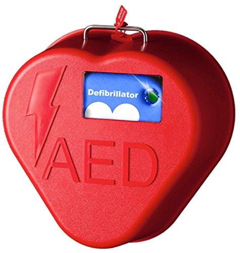 [해외]첫 번째 음성 TS-HC1A-01 HeartCase Stow N AED 캐비닛 브래킷 (알람 포함)/First Voice TS-HC1A-01 HeartCase Stow N Go AED Cabinet Bracket wi