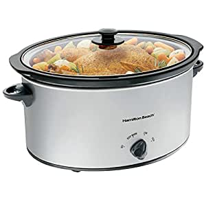 hamilton beach best 7 quart slow cooker oval slow cookers