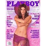 Playboy Magazine: October 1998 (Playboy Magazine, October 1998) ~ October 1998
