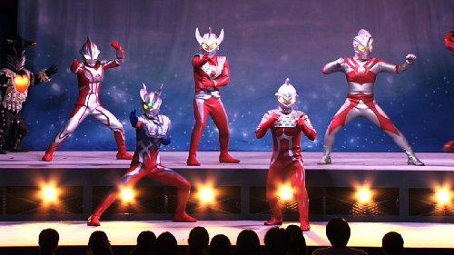 ウルトラマン THE LIVE シリーズ ウルトラマンフェスティバル2012 第1部「ウルトラセブン 進め銀河の果てまでも! 」 [DVD]