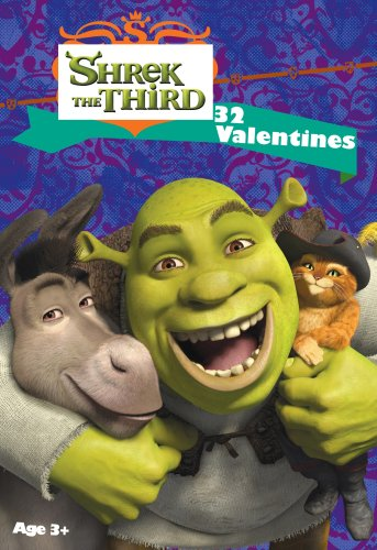 Shrek the Third Valentine Cards 32pk - 1