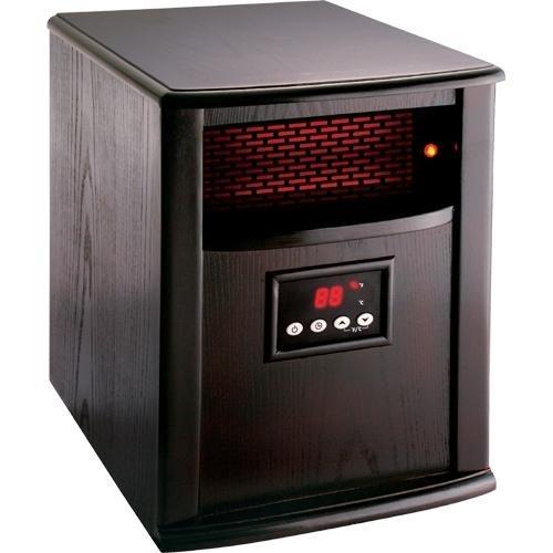 American Comfort ACW0032WE Infrared Heater, Silver Line, Espresso image B008AEU2VU.jpg