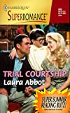 img - for Trial Courtship (Harlequin Superromance No. 843) book / textbook / text book