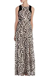 Silk Zebra Print Maxi Dress - Limited Edition