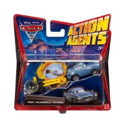 Disney-Pixar Cars 2 Action Agents: Finn McMissile - 1