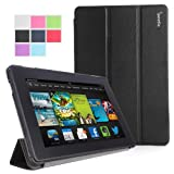 Poetic Slimline Case For All New Kindle Fire HD 7 2nd Gen (2nd Generation 2013 Model) 7inch Tablet Black (with...