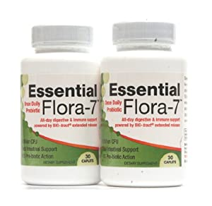 ★ Essential Flora-7 ★ 2 Month Supply ★ Probiotics for Women & Men ★ 6 Billion CFU's ★ 10 Hour Time-Released Delivery Ensures Entire Intestine Is Protected ★ All-day Relief ★ Works in Just 30 Minutes ★ Unprecedented Bio-Tract Technology ★ 100% Money Back Guarantee ★ 24/7 Customer Service