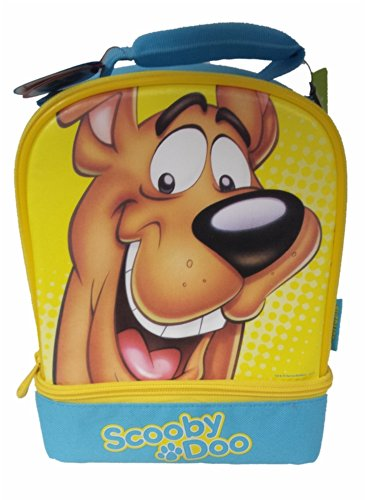 Thermos Scooby-doo Novelty Insulated Lunch Bag Box Dual Compartment - 1