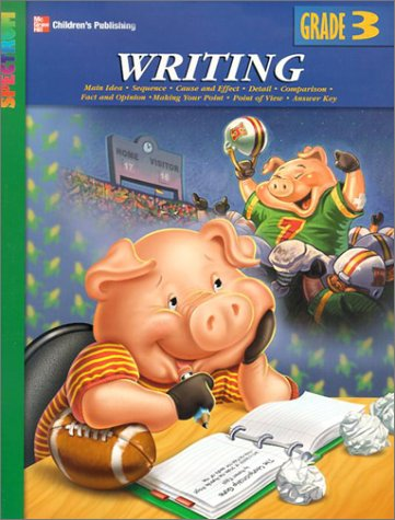 Spectrum Writing, Grade 3 (McGraw-Hill Learning Materials Spectrum), Carson-Dellosa Publishing