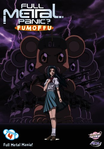 Full Metal Panic 4: Fumoffu - Full Metal Mania [DVD] [Region 1] [US Import] [NTSC]