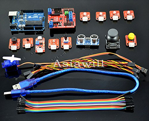 Asiawill® Ardublock Graphical Programming Zero-Based Learning Set For Arduino