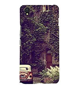 Wall design Back Case Cover for One Plus X::One + X