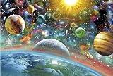 Hous—0048/宇宙物語:500 1000ピース木質パズル パズルの達人 ジグソーパズル 高品質木製のおもちゃ 子供、成人知育玩具 益智玩具 知識を増すおもちゃ プレゼント [並行輸入品]