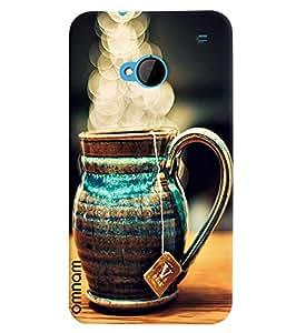 Omnam Desinger Kettle Printed Back Cover Case For HTC One M7