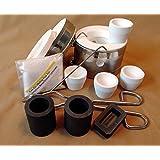 Deluxe Hybrid Kwik Kiln Kit - Gold Melting - Gold Mining Equipment (Color: White)