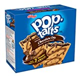 Pop-Tarts, (Semi-Frosted) Chocolate Chip,12-Count Tarts (Pack of 12)