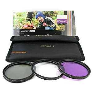 58mm UV CPL FLD Filter Lens Kit HD for Olympus E-450, E-620, E-520, E-510, E-500, E-420, E-410, E-400, E-330, E-30, E-3, E-300, E-1 Digital SLR Cameras Which Have Any Of These (14-42mm, 40-150mm, 70-300mm) Olympus Lenses