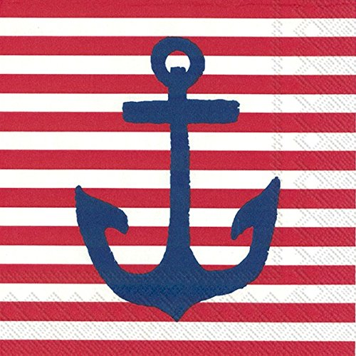 boston-international-20-count-yacht-club-3-ply-paper-cocktail-napkins-red-anchor