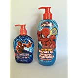 Spiderman All In One Shower Gel And Hand Soap Set