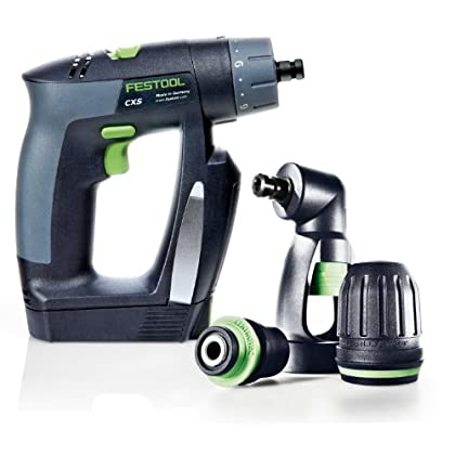 Want to Buy Festool 564274 CXS Compact Drill Driver Set With Right Angle Chuck