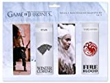 Game of Thrones Bookmark set 4 Bookmarks, magnetic