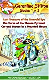 img - for Geronimo Stilton: Books 1-3: #1: Lost Treasure of the Emerald Eye; #2: The Curse of the Cheese Pyramid; #3: Cat and Mouse in a Haunted House book / textbook / text book