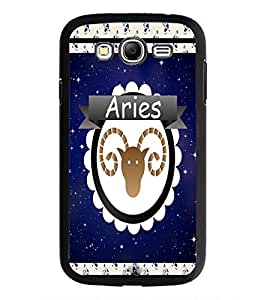 PrintDhaba zodiac Aries D-2768 Back Case Cover for SAMSUNG GALAXY GRAND I9082 (Multi-Coloured)