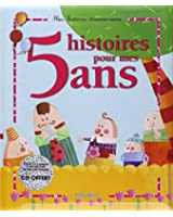 5 histoires pour mes 5 ans (1 livre + 1 CD audio)