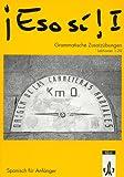 img - for Eso si!, Grammatische Zusatz bungen, Lektionen 1-20 book / textbook / text book