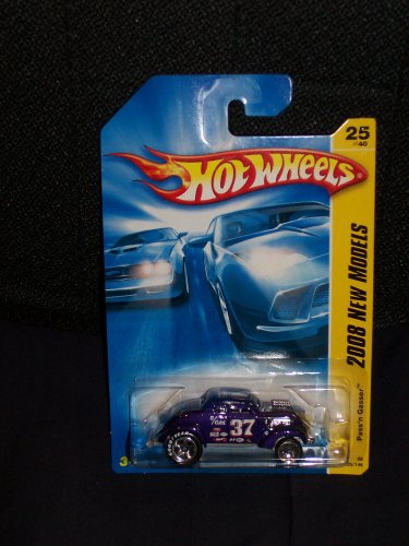 Hot Wheels 2008 025 25 New Models Purple Pass'n Gasser - 1